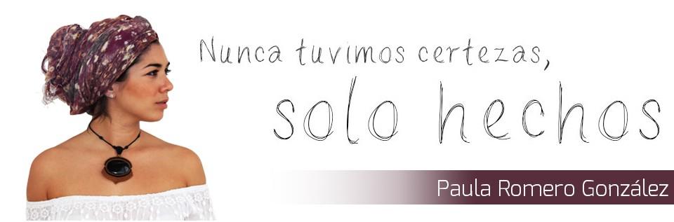 Mi página personal- Paula Romero